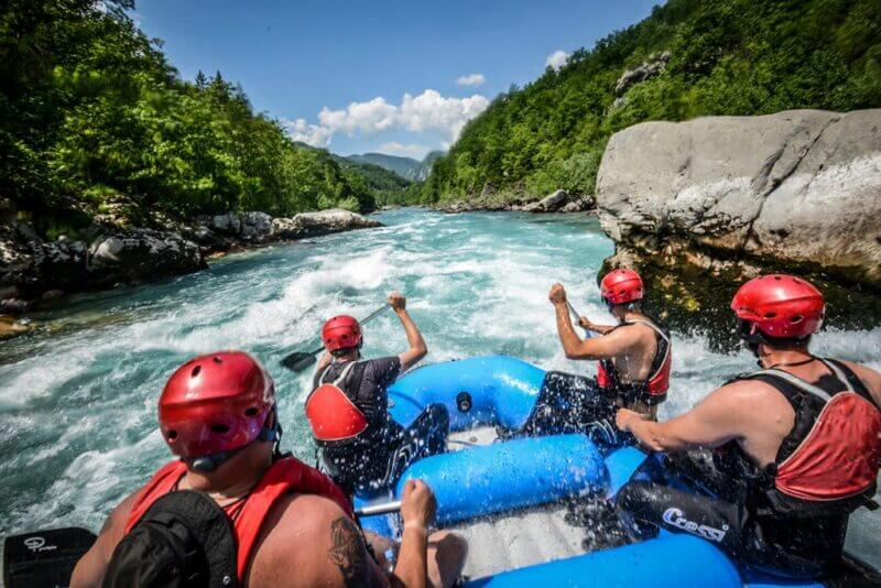 what is whitewater rafting