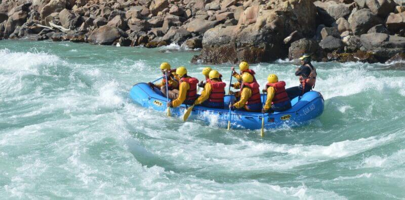 where is river rafting in rishikesh