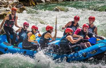 who invented whitewater rafting
