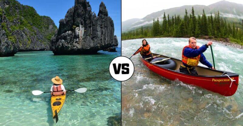 kayaking vs boating