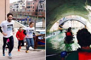 kayaking vs running