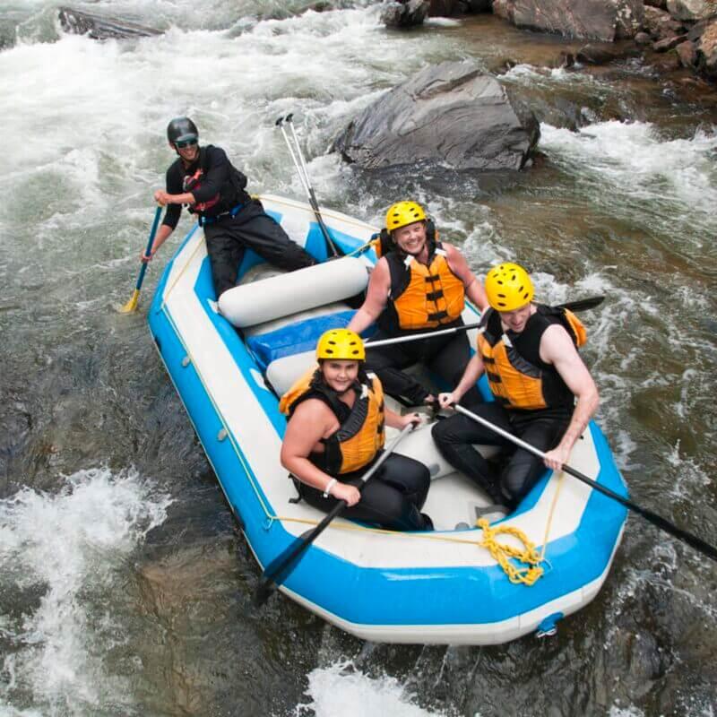 when is rafting season in colorado