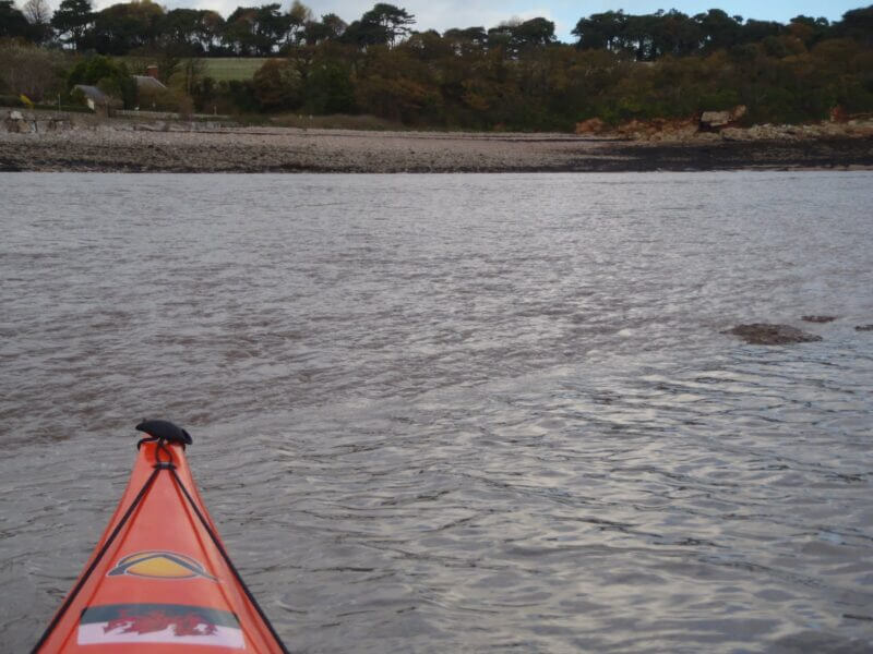 kayaking when tide is going out